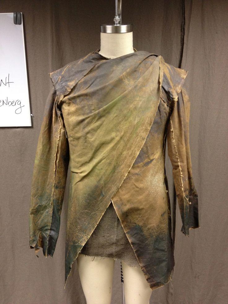 Dye sample. David Paulin, Head Dyer.  Noah. Matt Reitsma, Head Textile Artist.  Michael Wilkinson, Costume Designer. - Tyranny of Style