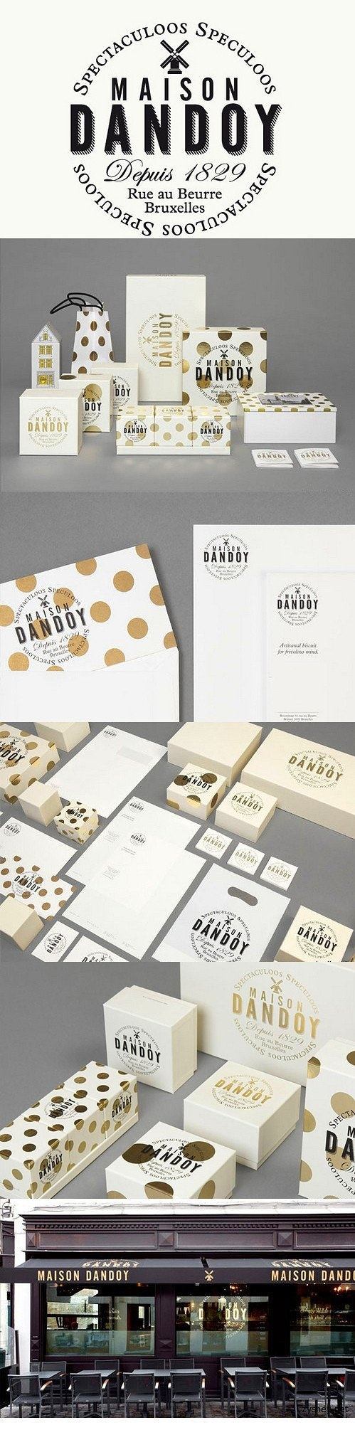 Maison Dandoy I'm seeing spots #identity #packaging #branding. PD