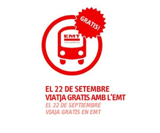 El autobús de la EMT y el Metro de Valencia gratis el 22 de septiembre, Día sin coches - http://www.valenciablog.com/el-autobus-de-la-emt-y-el-metro-de-valencia-gratis-el-22-de-septiembre-dia-sin-coches/