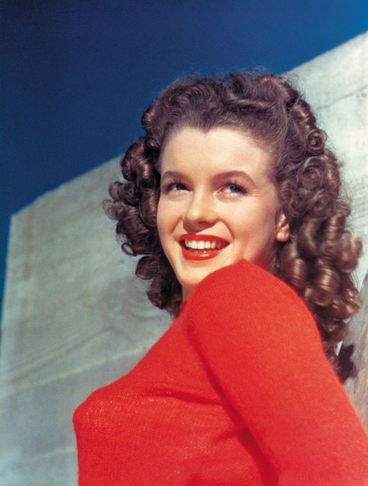 Norma Jeane Baker Natural Hair Color