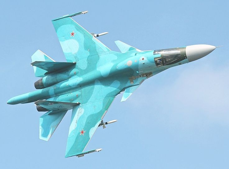 Sukhoi Su-34 Fullback; Russia's New Heavy Strike Fighter