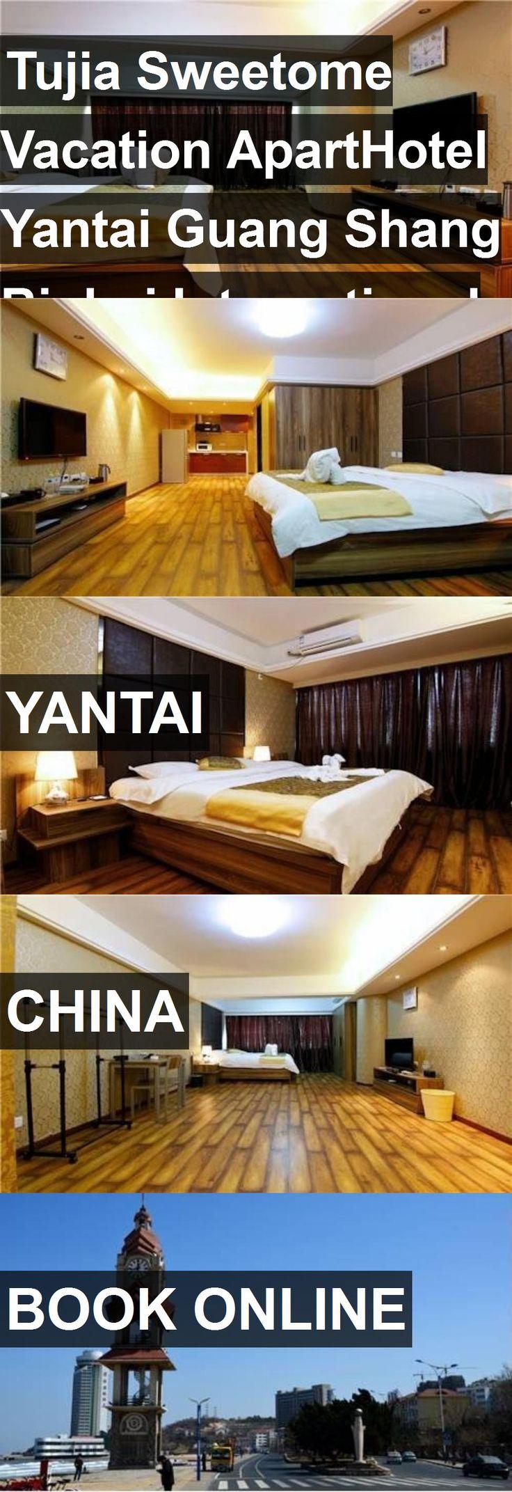 Tujia Sweetome Vacation ApartHotel Yantai Guang Shang Binhai International Mansion in Yantai, China. For more information, photos, reviews and best prices please follow the link. #China #Yantai #travel #vacation #hotel