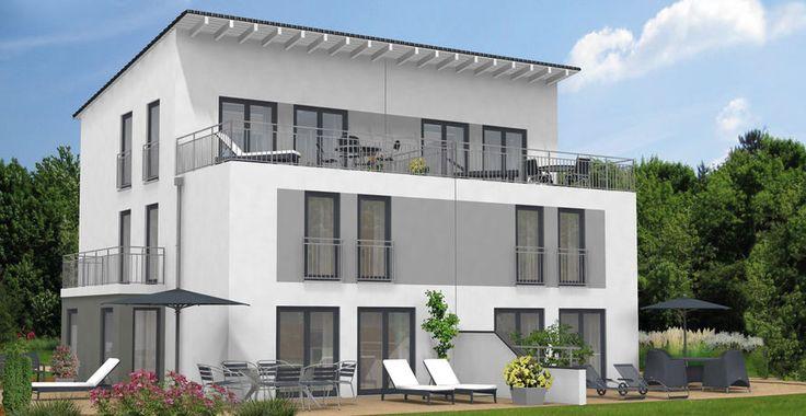 27 besten doppelhaus bilder auf pinterest flachdach kostenlos und moderne h user. Black Bedroom Furniture Sets. Home Design Ideas