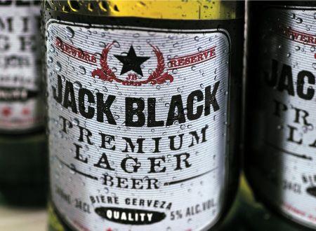 Beer bottle label example