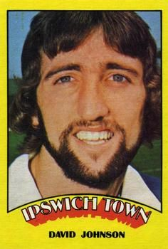 1974-75 A&BC Gum #6 David Johnson Front