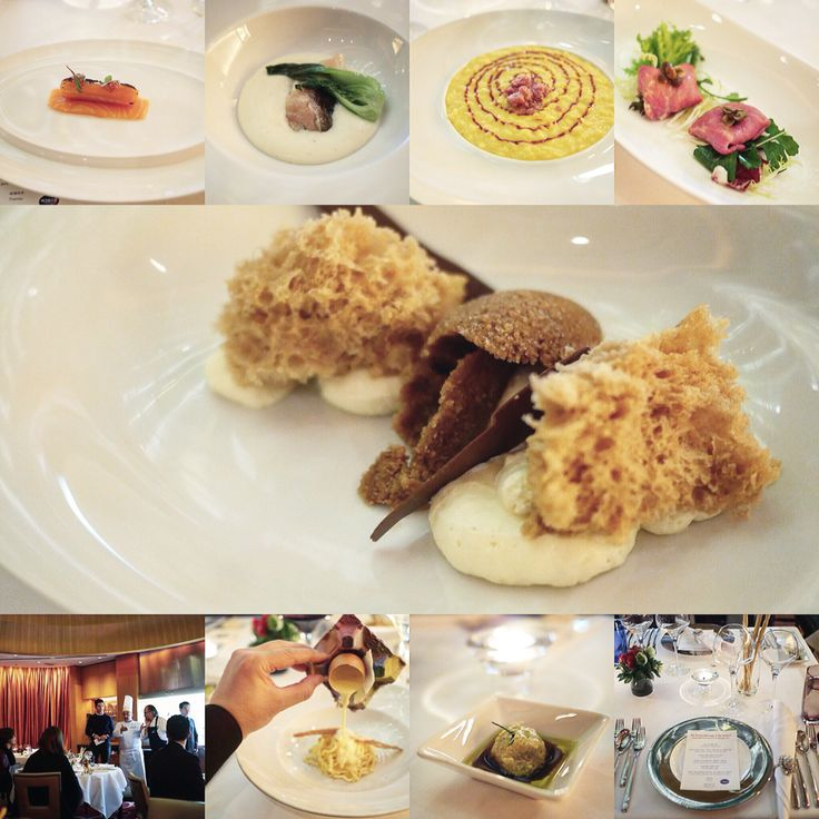 Gala dinner from chef Marco Sacco at Peninsula restaurant at the Lotte Hotel