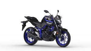 2018 Yamaha MT-03 in Race Blue