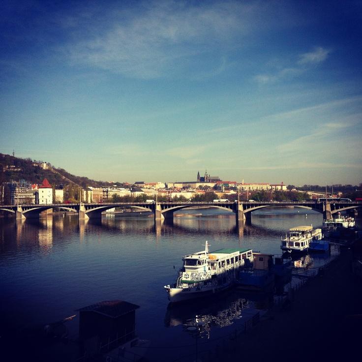 #prague #praha #capital of #czechrepublic #ceskarepublika #mycity #riverside #vltava #river