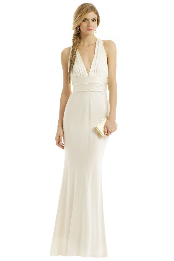 Nicole Miller Monroe Twist Gown- I will have to try it on. Can you imagine?  I could rent it!