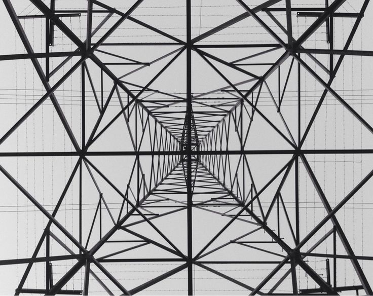 Photograph by SirSaucySquid on reddit   Reddit user SirSaucySquid lay directly underneath a transmission tower to capture this hypnotic photo. The dizzying array of steel is reminiscent of a s...
