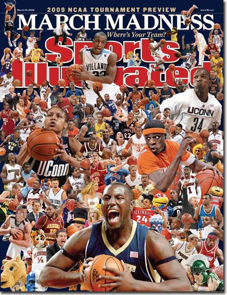 pitt panthers basketball   On the Cover: DeJuan Blair, Basketball, Pittsburgh Panthers
