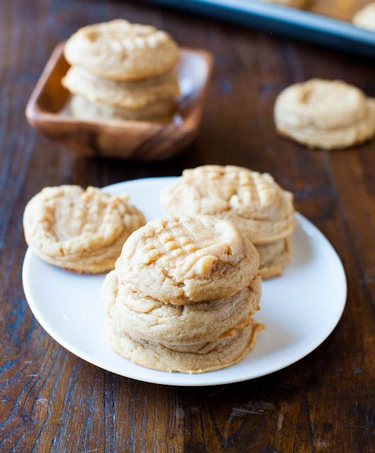 Old Fashioned Chewy PeanutButter Cookies Recipe Jenn's Notes: Phenomenal, this is my