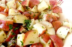 Drop Weight With This Powerful, Effective Advice And Become A Healthier, Happier You!: Food Lists, Yummy Yummy, Potatoes Salad, Potato Salad, Balsamic Vinaigrette, Herbs Balsamic, Herbs Vinaigrette, Favorite Recipes, Food Drinks