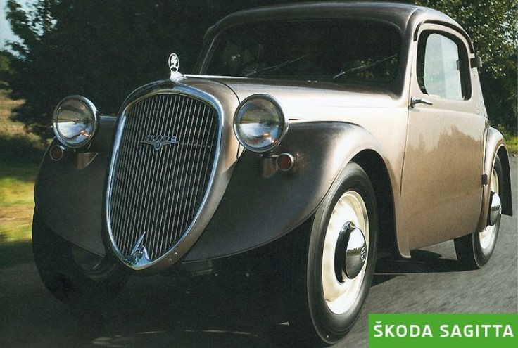 Škoda Story : Škoda Sagitta (1936)