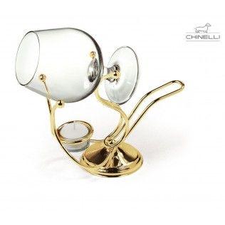 Incalzitor de cognac placat cu aur by Chinelli http://www.borealy.ro/cadouri-craciun-1/incalzitor-de-cognac-placat-cu-aur-by-chinelli.html
