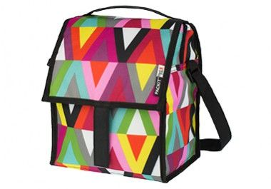 Insulated large lunch bag with cooling technology that chills like a fridge for hours