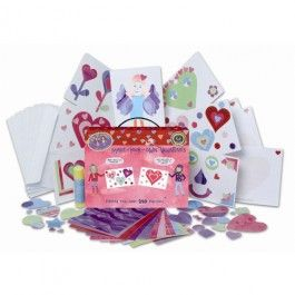 Make-Your-Own-Valentines Kit: Valentines Crafts, Make Your Own Valentines Kits, Hands Valentines, Cards Kits, Crafts Valentines, Homemade Cards, Valentines Cards, Crafts Kits, Valentines Day Cards