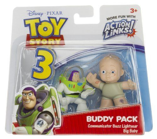 Communicator Buzz Lightyear   Big Baby  Toy Story 3 Action Links  Mini-Figure Buddy Pack 2 Inch High Figures by Mattel.  15.99. Communic… 2af85f26cae