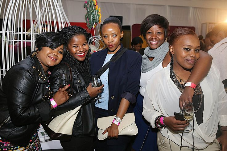 Katleho, Phindo, Lerato, Keitumetsi & Nthabiseng at the 10th TOPS at SPAR Soweto Wine and Lifestyle Festival