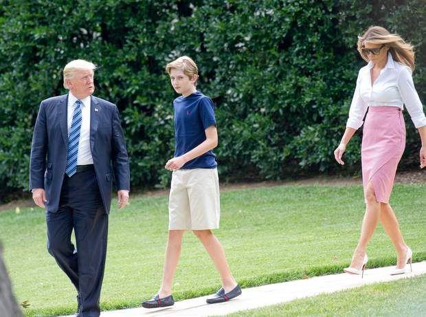 Donald Trump, Barron et la