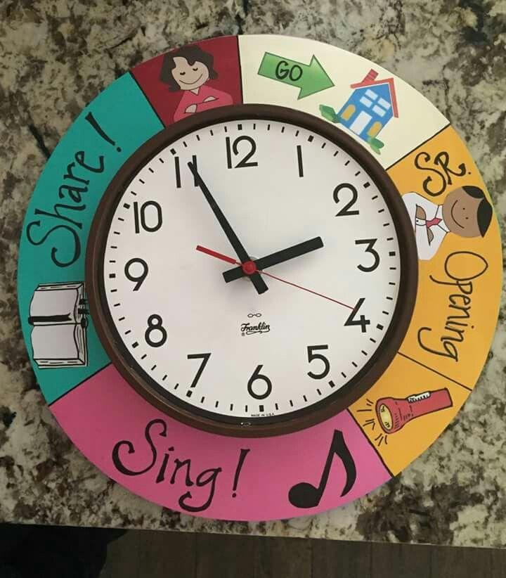 Clock schedule                                                                                                                                                      More