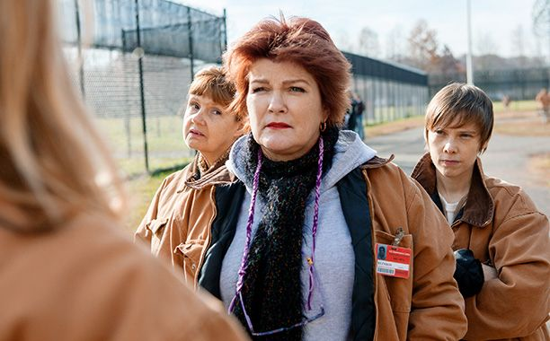 'Orange is the New Black' star Kate Mulgrew on her Emmy nomination and that magical chicken   EW.com-There's a scene in the kitchen where I describe the chicken. I have a dream about the chicken, and I loved this. I just loved the way I describe the chicken, how the chicken looks, its sensibility, its mysteriousness.