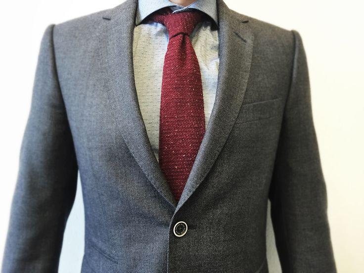 Gebreide das - Manify  - Must-wear: De gebreide stropdas - Manify.nl