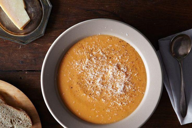Red Pepper and Cauliflower Chowder recipe on Food52