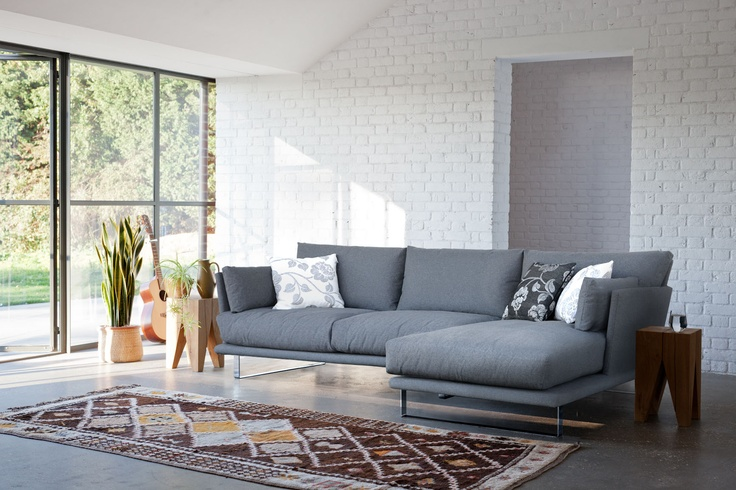 Starting at £1,891 the Eleanor's shape offers a modern design and still provides great comfort levels through the deep seat and generous back height.  http://www.loveyourhomeforless.com/living-room/sofas/modern-sofas/eleanor-modern-corner-sofa-3674.html