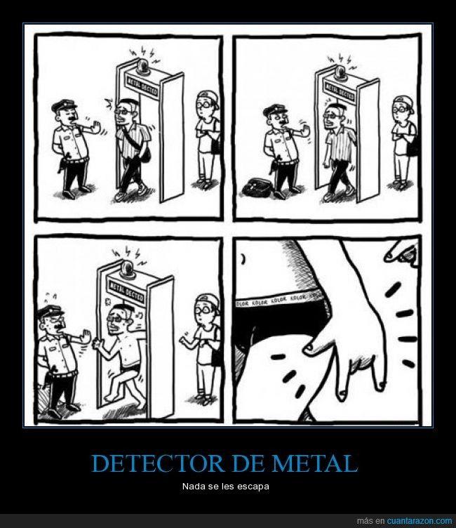 DETECTOR DE METAL - Nada se les escapa
