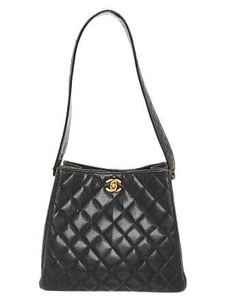 00f0c3410880f Chanel gebraucht - Handtasche aus Kaviar-Leder - Damen - Schwarz - Leder