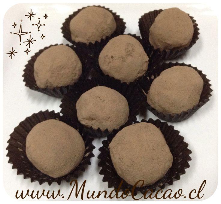 Trufa de chocolate Bitter 71% cacao de Ecuador.