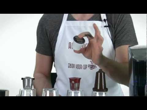▶ Keurig Bold Coffee K-Cup vs Reuseable K Cup Filters (Ekobrew, Solofill Cup and My K-Cup) - YouTube