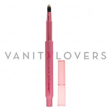 I pennello makeup dal design retraibile perfetto per l'applicazione del rossetto