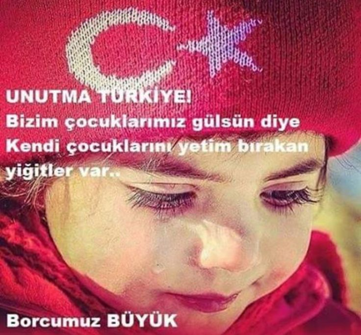 unutma Türkiye.. Şehitlerimizi unutma.