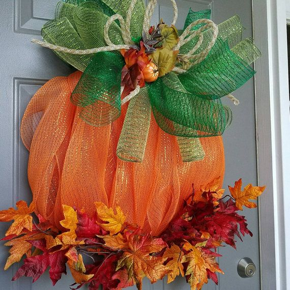 Welcome Guests With Fall Door Decorations: Best 25+ Elegant Fall Wreaths Ideas On Pinterest