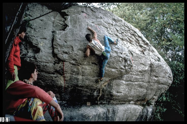 https://flic.kr/s/aHskxbCvGa | climbing & bouldering in the 80ies & 90ies | ... from all over the world!