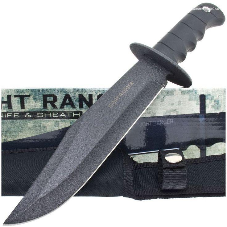 BK927 Night Ranger Tactical Bowie Knife & Sheath   MooseCreekGear.com   Outdoor Gear — Worldwide Delivery!   Pocket Knives - Fixed Blade Knives - Folding Knives - Survival Gear - Tactical Gear