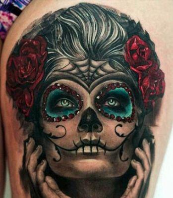 Ms de 25 ideas increbles sobre Tatuajes de rostros en Pinterest