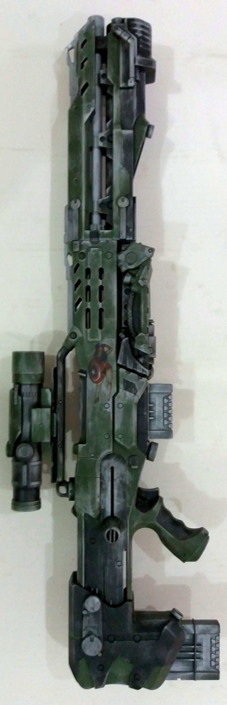 Nerf Elite Longshot cs-6 custom