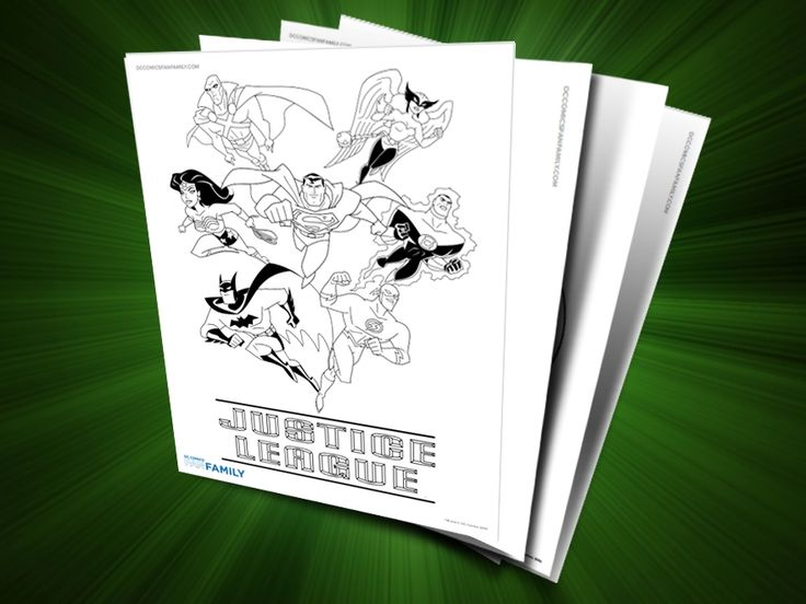 Young Justice Printable Best Of Coloring Pages: 24 Best Images About DC Comic Coloring Pages On Pinterest