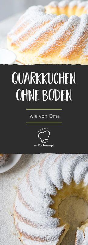 Quarkkuchen (ohne Boden) wie von Oma – backen
