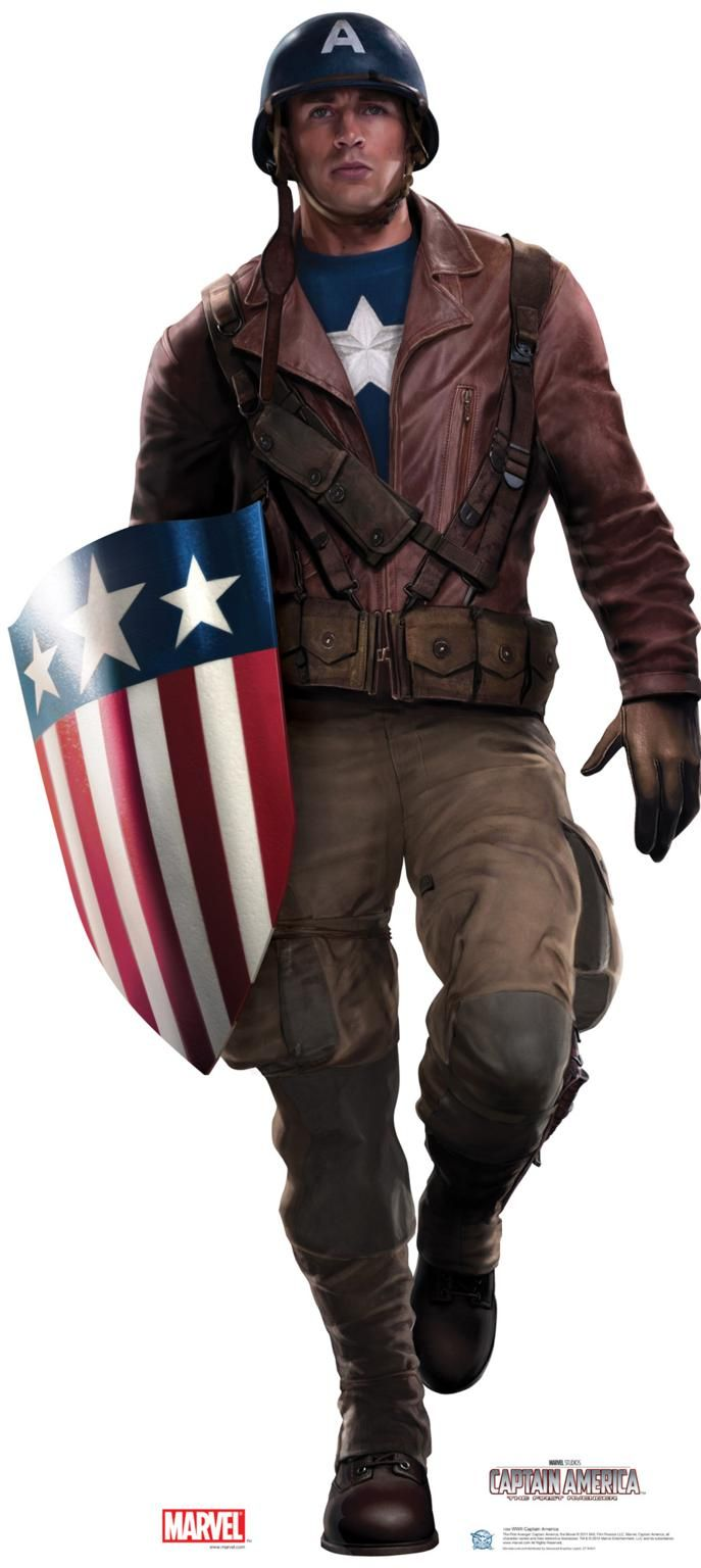Captain America WWII. This but female version of course :)