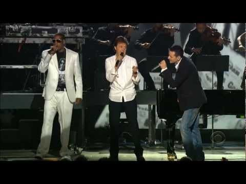Linkin Park, Jay - Z, Paul McCartney - Numb/ Encore/ Yesterday (48th Grammys, 2006) [Full HD 1080p] - YouTube