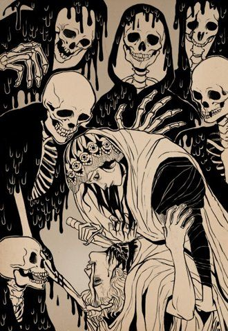 supersonic electronic / art - Kippery.: Skull, The Artists, Comic Books, Bones, Death, Illustration, The Killers, Dinners Parties, The Dark