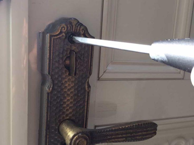 玄関扉の鍵シリンダーをディンプルキーに交換する方法 玄関扉 ドアノブ 玄関 ドアノブ