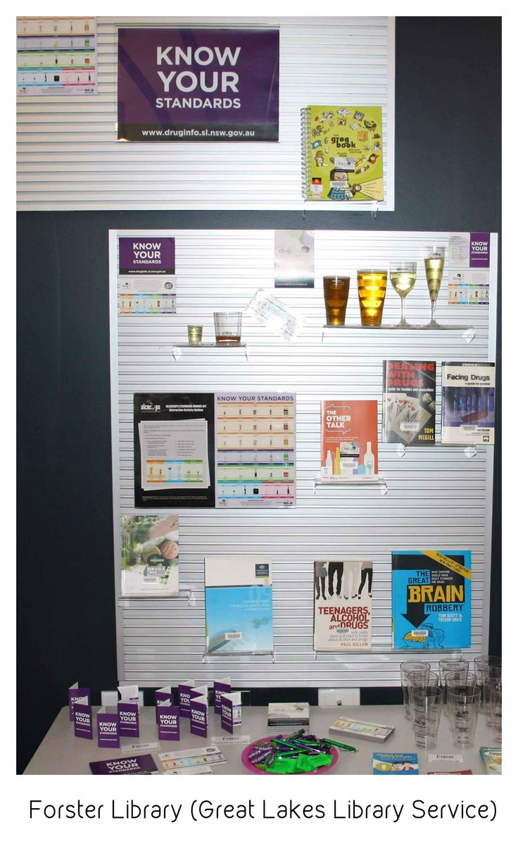Know Your Standards display at Forster - Great Lakes Library Service #knowyourstandards #nswpubliclibraries