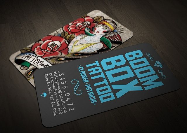46 best tattoo business cards images on Pinterest