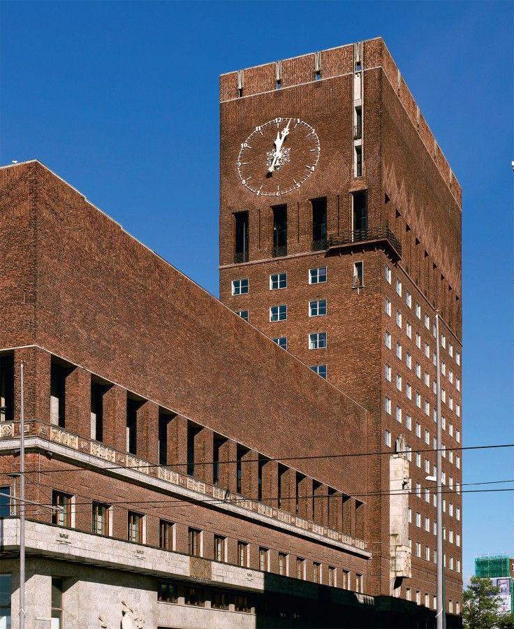 Oslo Rådhus, Oslo tegnet av Arnstein-Arneberg og Magnus Poulsson Se bygget og opplev flere bygg