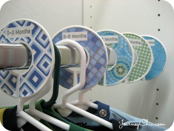 diy closet dividers for nursery